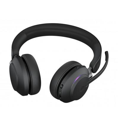 Jabra Evolve2 65, Link380a MS Stereo Stand Black